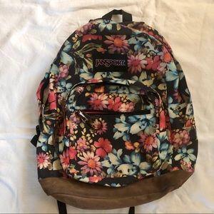 JanSport floral backpack!